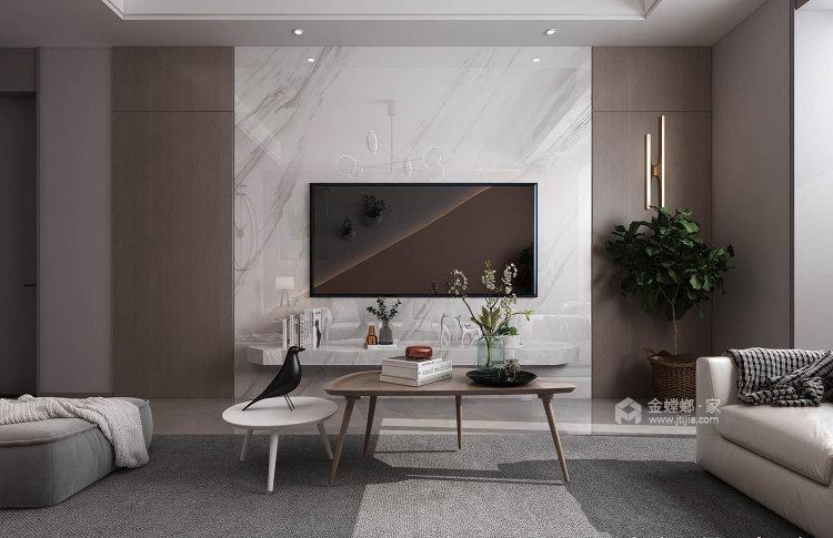 101平莱茵城中式风格-摩登-客厅效果图及设计说明