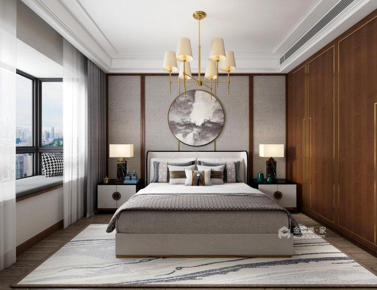 126平翠园锦绣中式风格-卧室效果图及设计说明