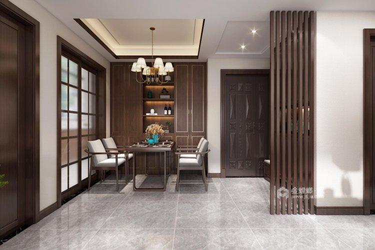 126平翠园锦绣中式风格-餐厅效果图及设计说明