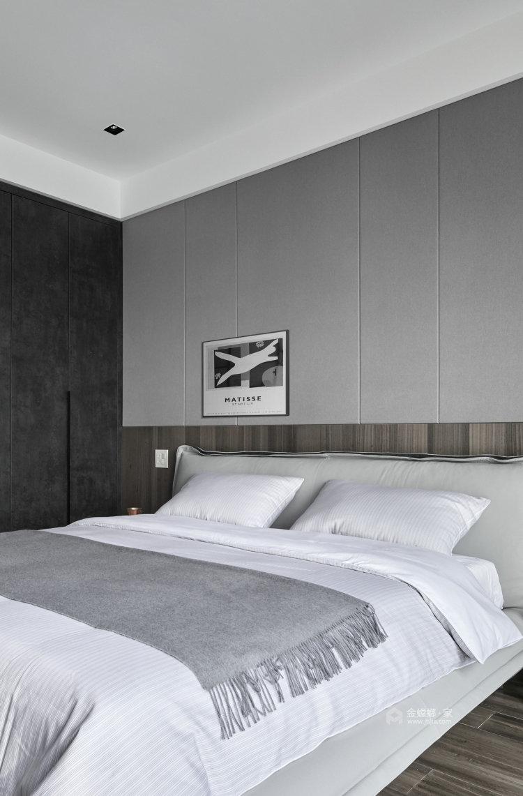 188平百合苑现代风格-卧室效果图及设计说明