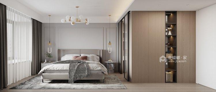 132平高教公寓现代风格-永恒温度-卧室效果图及设计说明