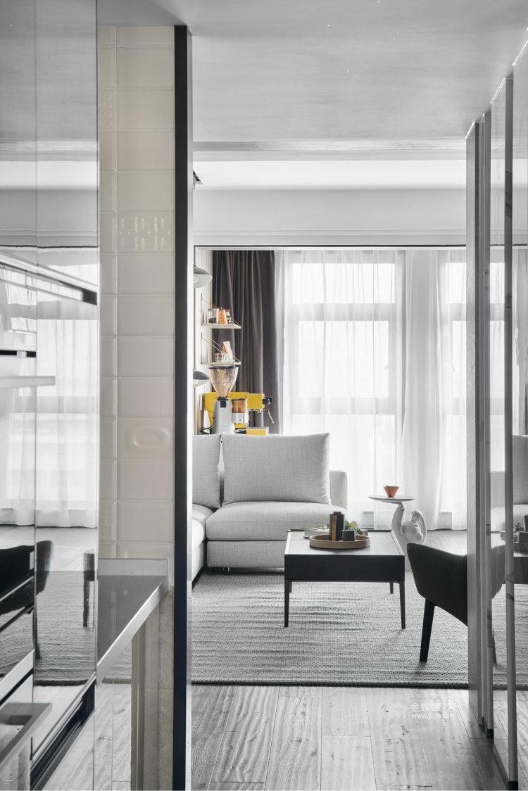 188平百合苑现代风格-餐厅效果图及设计说明