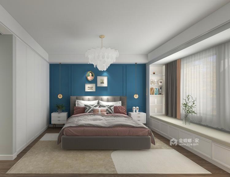 145平金大地时代公馆现代风格-卧室效果图及设计说明