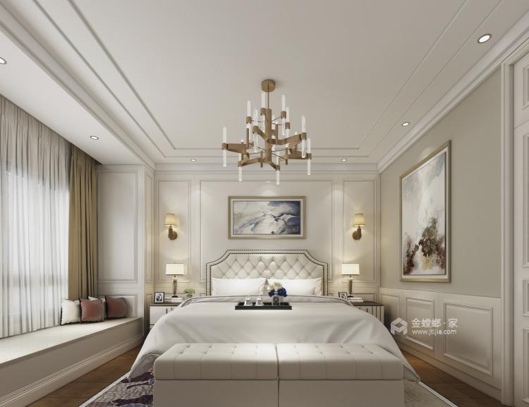160平愉景湾现代风格-卧室效果图及设计说明