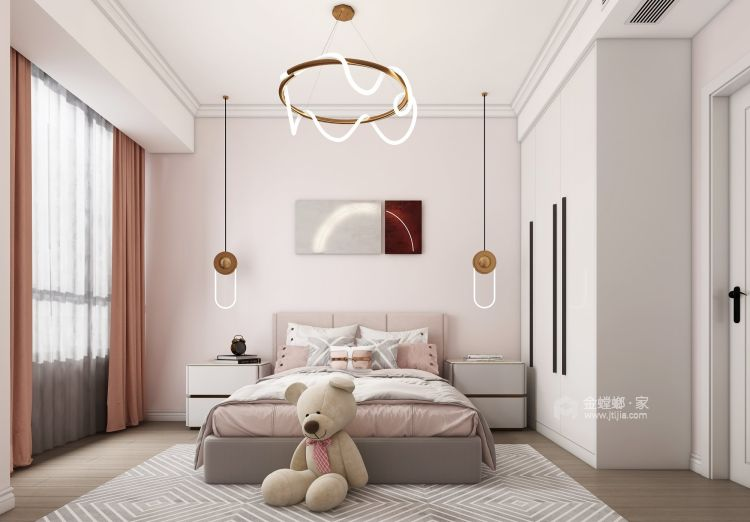 123平瑞日嘉园现代风格-儿童房