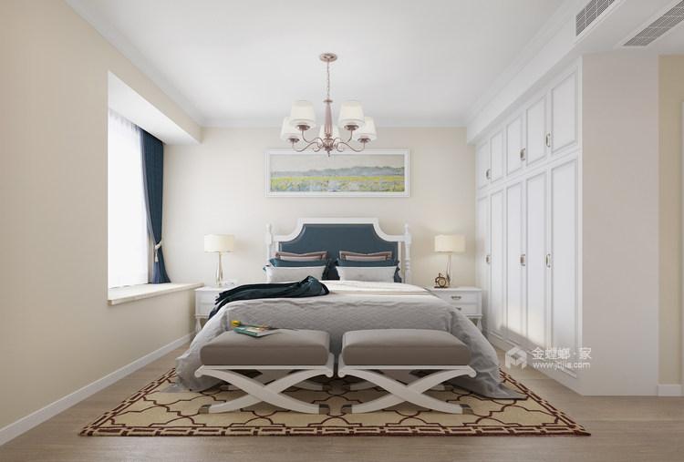 139平澜湾国际简欧风格-明亮舒适之家-卧室效果图及设计说明