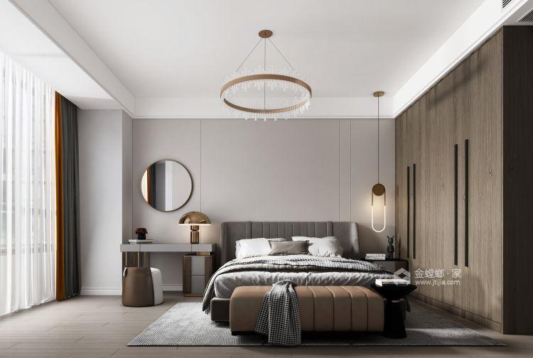 123平瑞日嘉园现代风格-卧室效果图及设计说明