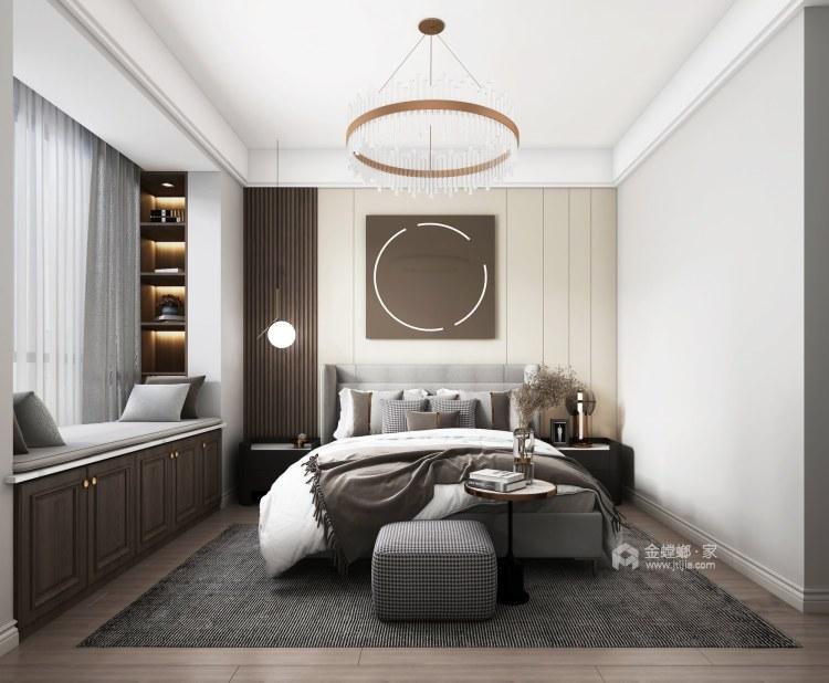 130平抚州中心现代风格-卧室效果图及设计说明