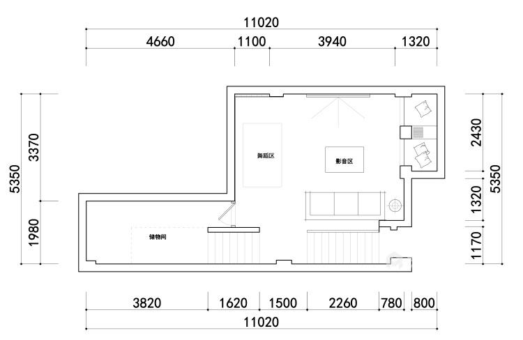 180平景瑞御江山现代风格-精致的现代居住空间-平面设计图及设计说明