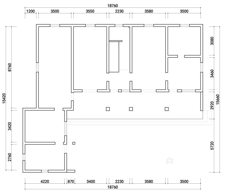 360平自建房现代风格-追光者-格调极简,品质生活-业主需求&原始结构图