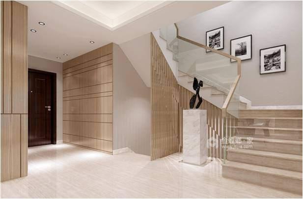 160平现代园墅现代风格-高颜值 高品质-客厅效果图及设计说明
