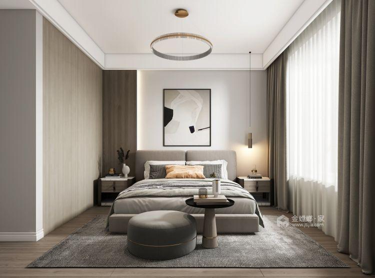 107平硕丰世界城现代风格-卧室效果图及设计说明