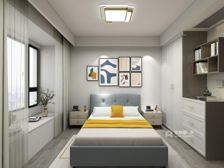 132平泊云庭现代风格-卧室效果图及设计说明