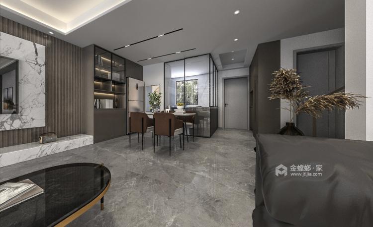 140平国瑞熙墅现代风格-餐厅效果图及设计说明