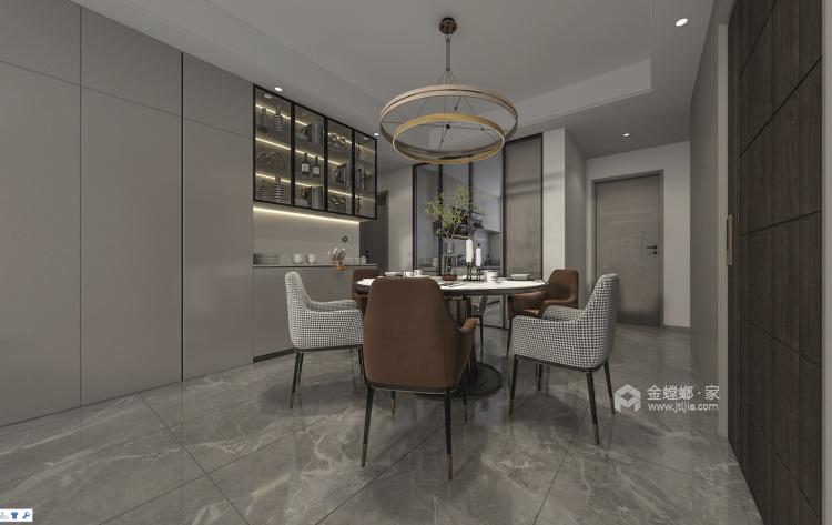 255平姑苏正弘府新中式风格-餐厅效果图及设计说明