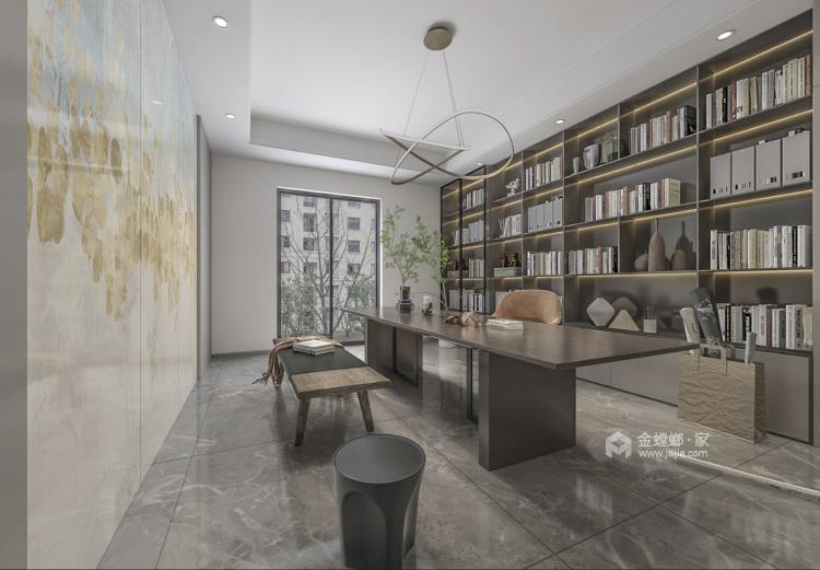 255平姑苏正弘府新中式风格-客厅效果图及设计说明
