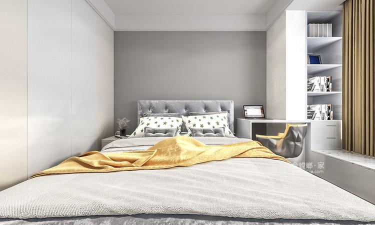 140平国瑞熙墅现代风格-卧室