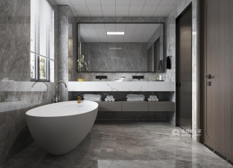 350平西山自建房新中式风格-卫生间