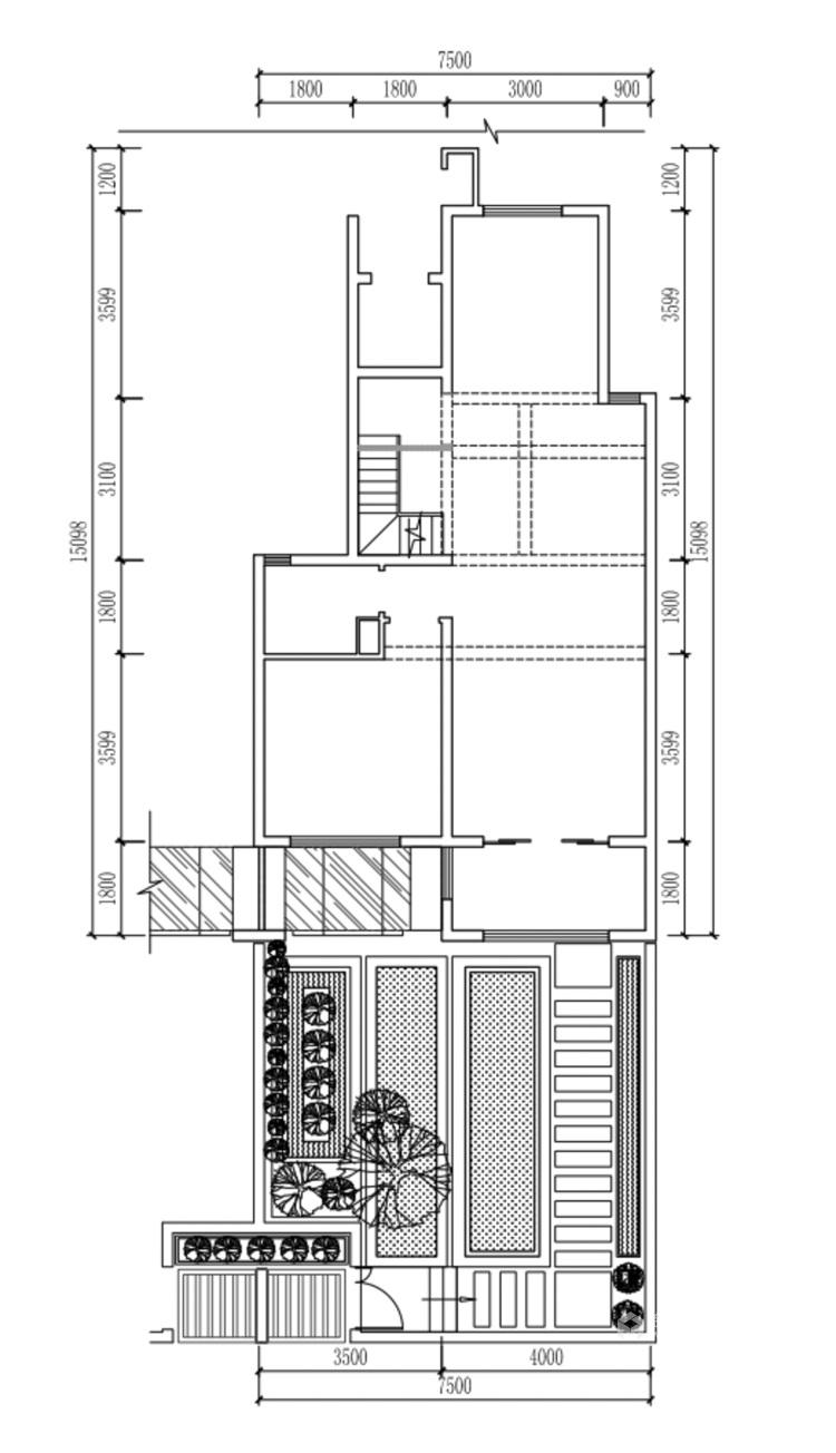 160平鲁能公馆新中式风格-业主需求&原始结构图