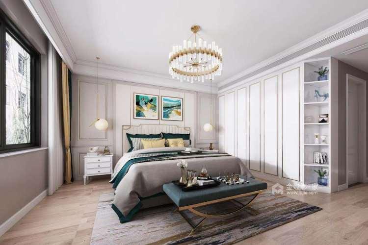 186平雍璟台美式风格-岁月有你-卧室效果图及设计说明