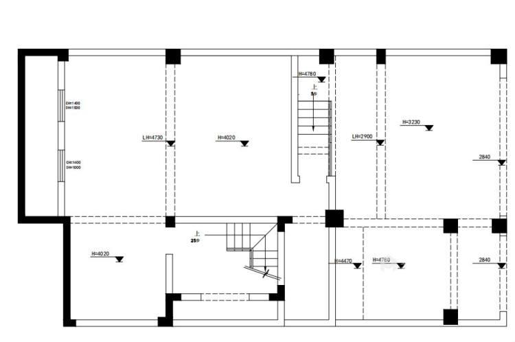 460平中信森林湖现代风格-现代极简完美生活-业主需求&原始结构图