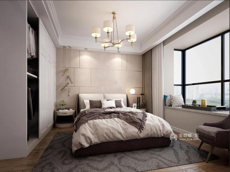 120平龙湖时代天街现代风格-卧室效果图及设计说明