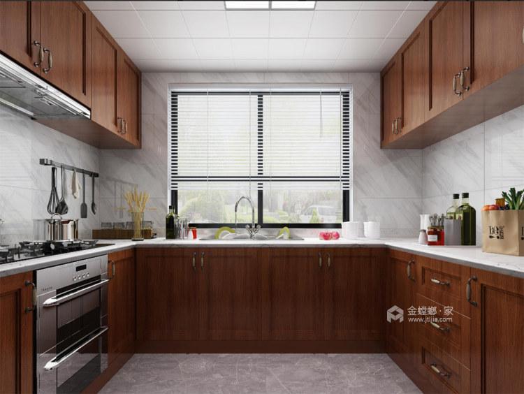 130平淞泽家园新中式风格-传统亦是传承-厨房