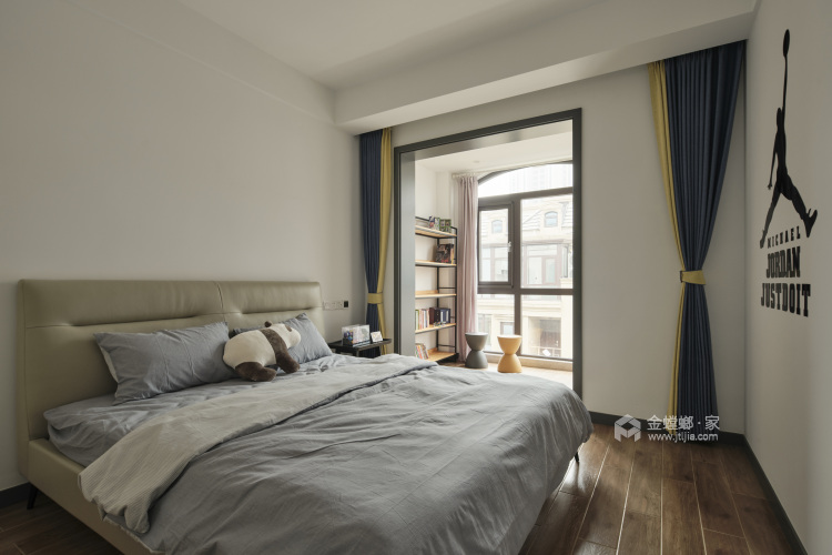 220平枫丹壹号现代风格-卧室效果图及设计说明
