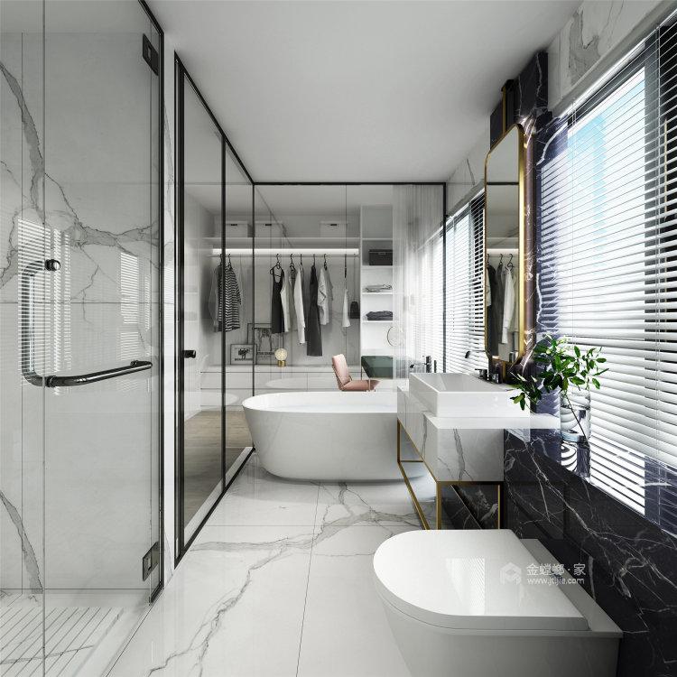 150平碧泉山庄现代风格-卧室效果图及设计说明