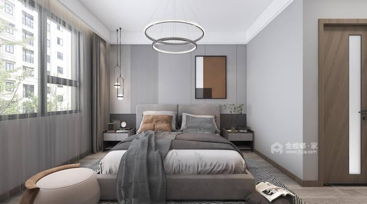 143平御湖宸院现代风格--浅艺-卧室效果图及设计说明