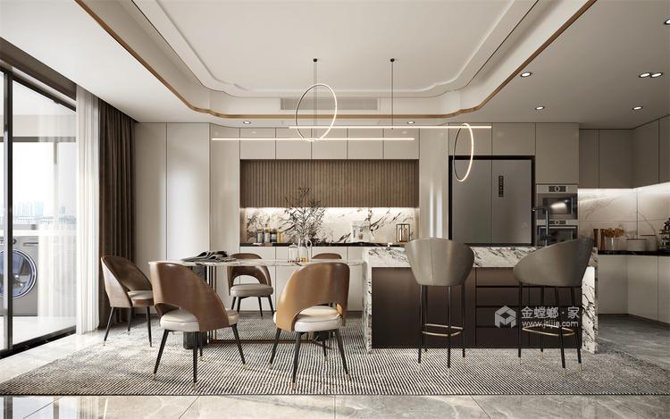 118平国瑞熙墅现代风格-餐厅效果图及设计说明
