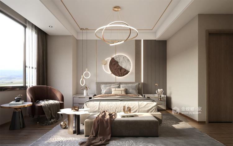 118平国瑞熙墅现代风格-卧室效果图及设计说明
