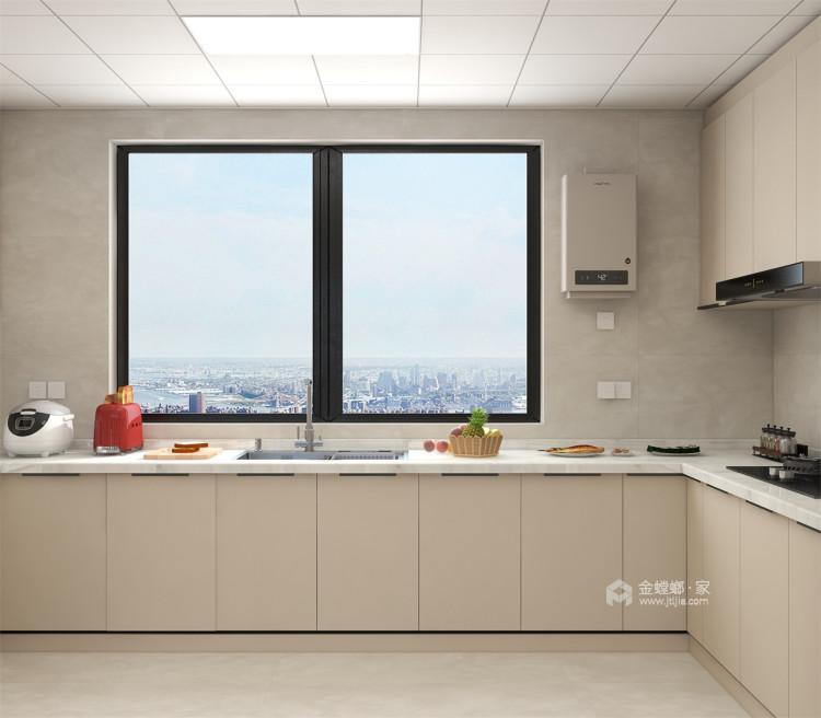 127平苏都花园现代风格-面朝阳光,嘴角上扬-厨房