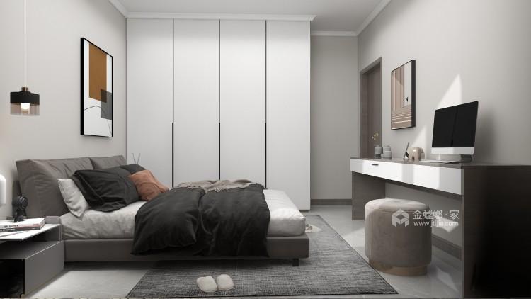88平同德悦庭现代风格-给你不一样的感受-卧室效果图及设计说明