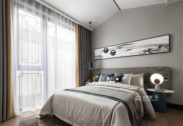 130平北京风景新中式风格-一花一木,满庭芳华-餐厅效果图及设计说明