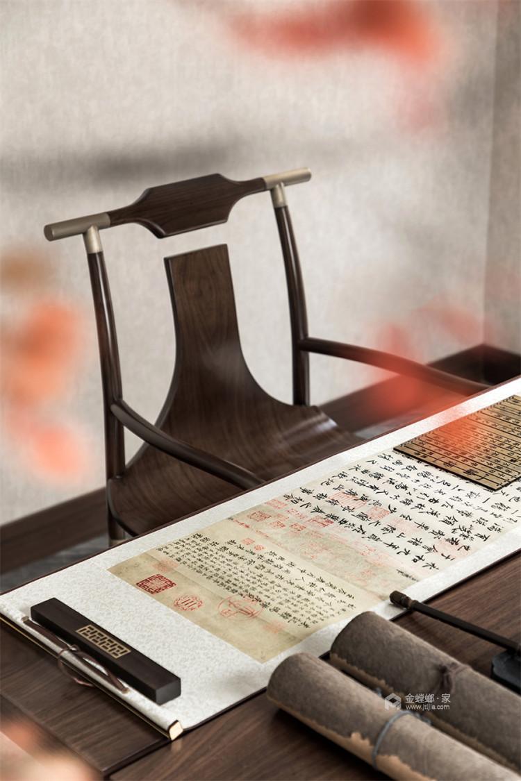 130平北京风景新中式风格-一花一木,满庭芳华-卧室效果图及设计说明