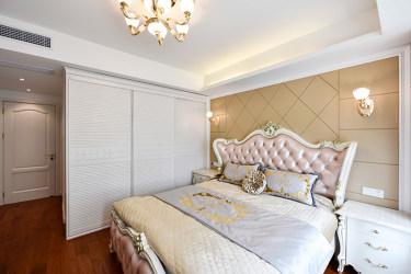 140平四居欧式卧室