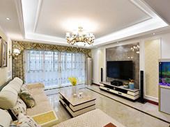145㎡现代混搭,心之所念,幸福之家-万丰家园小区145平米三居现代装修案例