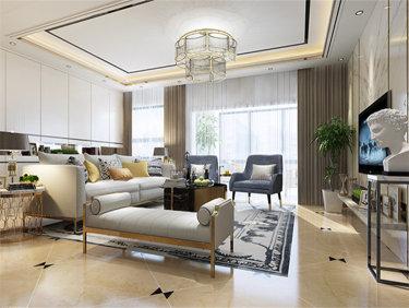 舒适的轻奢生活 145平米现代风格装修效果图