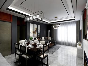 最懂生活的家居风格,完美演绎现代式优雅-富力尚悦居小区125平米3室现代装修案例