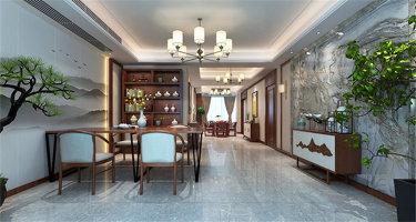 146平米新中式特有的禅意与灵境的质感