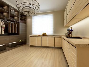 简约现代风的家-保富国际小区127平米2室现代装修案例