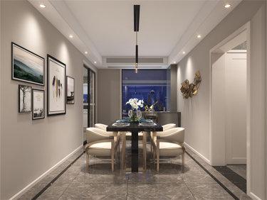 追求品质生活的现代简约风-中楠时代小区130平米3室现代装修案例
