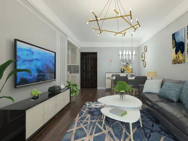 这个单身公寓,竟然是老师的家-钟鼎悦城小区60平米1室北欧装修案例