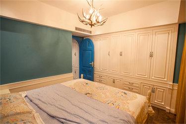 地中海风格二居,温馨色配大套间-金色海岸小区100平米2室地中海装修案例