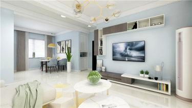 玄关做好收纳,能多出2㎡储物空间-荣盛观邸小区122平米3室现代装修案例