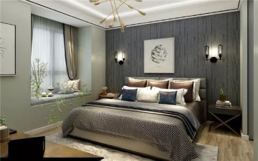 135㎡现代风,打造与众不同的空间魅力!-中交美庐城小区135平米3室现代装修案例