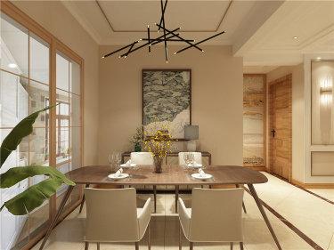 现代港式勾勒超强质感-文博家园小区133平米3室现代装修案例