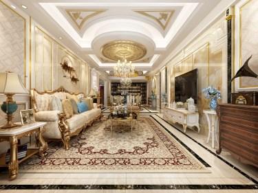 典雅欧式暖宅,带你体验人间奢华