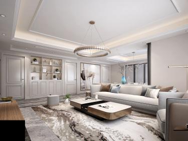 243m²欧式浪漫,一眼难忘的奢华之美-金河国际华庭小区243平米4室欧式装修案例